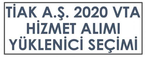 VTA 2020 HİZMET ALIMI